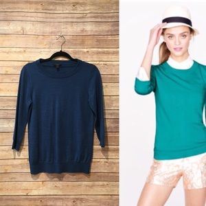 J. Crew Tippi Sweater in teal